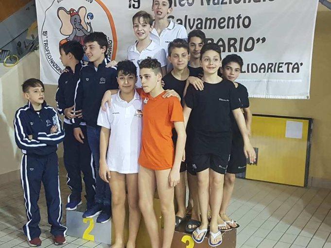 3T Frascati Sporting Village, i ragazzi sul terzo gradino del podio