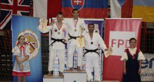 Mascherucci in trionfo in Slovacchia