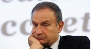 Il presidente della FIP - Gianni Petrucci, in una foto tratta dal web