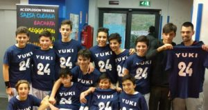L'Under 14 del San Nilo Grottaferrata