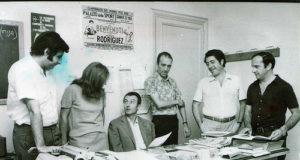 Guglielmo Moretti al centro della foto