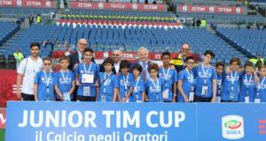 Junior TIM Cup premiati Campioni nella Vita