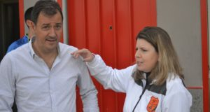 Piancatelli e la presidentessa Furlani