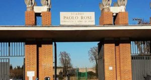 Lo stadio Paolo Rosi