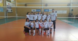 Under 13 femminile del Volley Club Frascati