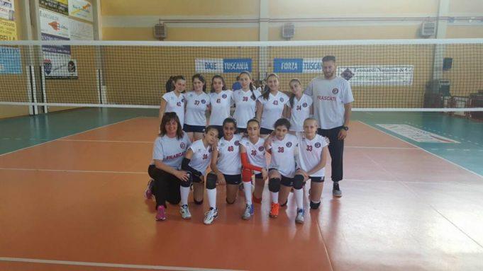 Under 13 femminile del Volley Club Frascati