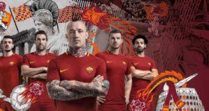 I testimonial della nuova campagna Nike (sponsor tecnico della AS Roma) - stagione 2017/18
