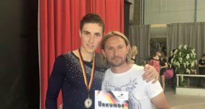 Neri con l'allenatore Quirini