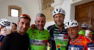 Ruggero Marzoli, Gabriele Marchesani, Emidio Morganti e Stefano Giuliani