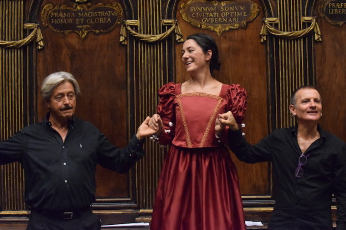 Protagonista assoluta Francesca Angeli nei panni di Vittoria Colonna