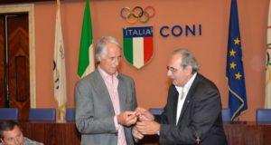 Giovanni Malagò e Angelo Morelli