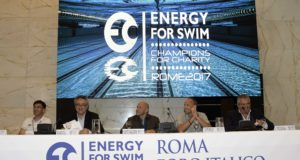 Energy Standard Trophy Energy for swim , champions for charity Press Conference Stadio del Nuoto, Roma, Italy Jun 23, 2017 Photo © Giorgio Scala/Deepbluemedia/Insidefoto