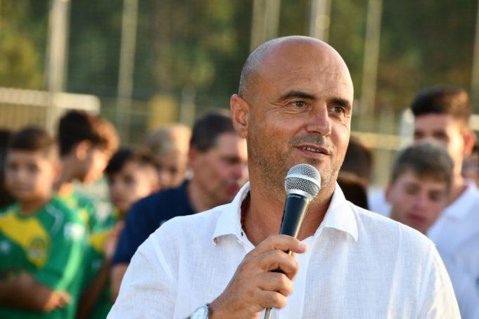 Giuseppe Giannini allenatore della Racing Club Fondi