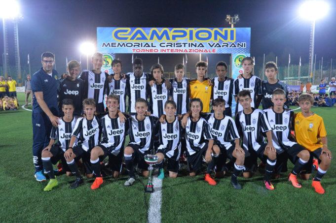 I 2003 della Juventus hanno chiuso al secondo posto la scorsa edizione del Memorial Varani