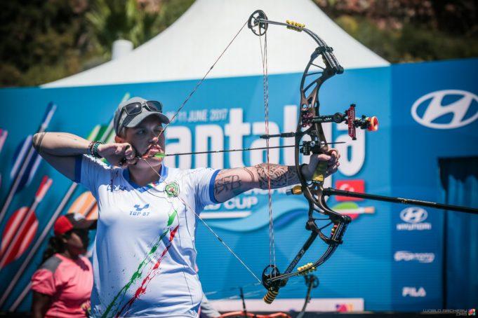 Marcella Tonioli detentrice della Coppa del Mondo 2016 CREDITS WORLD ARCHERY