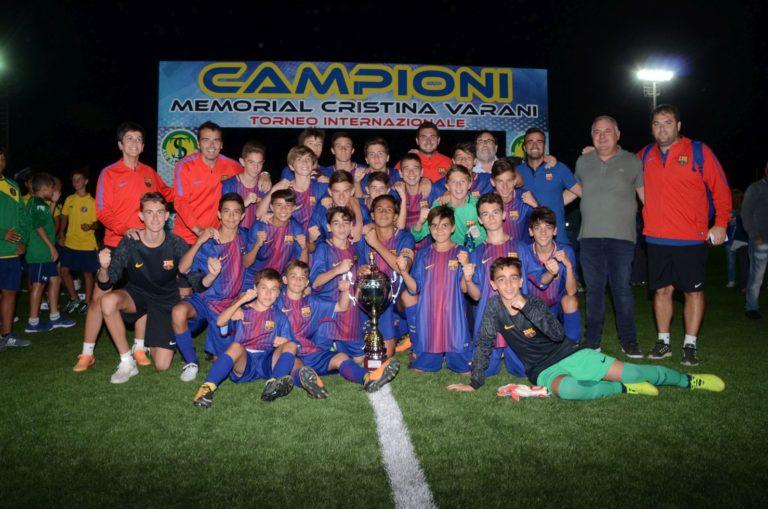 Calcio, memorial Varani, il Barcellona batte la Roma e conquista la terza edizione