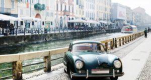 Porsche 356 Coupé del 1956 colore Verde Lago - Centro Porsche Milano Est