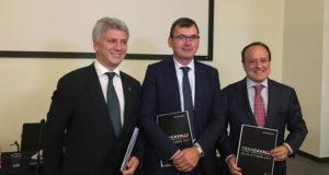 Nella foto da sinistra a destra: Simone Perillo, Maurizio Danese, Giovanni Mantovani - Ph. Equi-Equipe