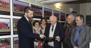 DeSanctis dona la maglia di Totti