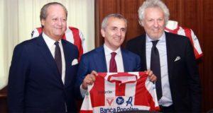 Banca Popolare di Vicenza si conferma sponsor di maglia del Vicenza calcio - foto tratta da VicenzaReport.it