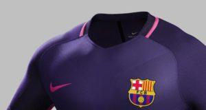 La nuova maglia (rendering) del Barcelona FC prodotta da Nike (stagione 2016/17)