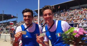 Giuseppe Vicino e Matteo Lodo