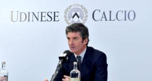 Udine 6 Febbraio 2018. Presentazione Sponsor Tecnico Macron. © Foto Petrussi