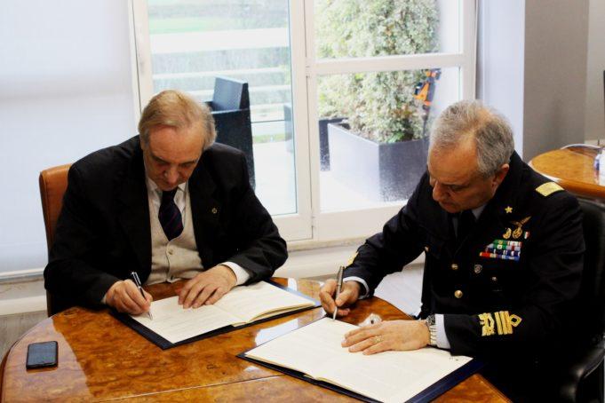 Ufficio Generale Per La Comunicazione Aeronautica Militare : Convenzione tra am e u cla sapienzau d stella d italia news