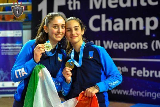 Vally Giovannelli (a sinistra)