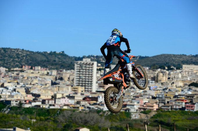 Gianluca Facchetti protagonista della classe MX2 (Ph.OffRoadProRacing/Messora)