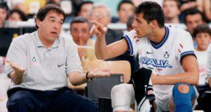 Bebeto e Zlatanov durante la WL 1998 (Archivio Fipav)
