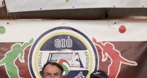 Il presidente Malfatti con il tecnico Tonino Federici