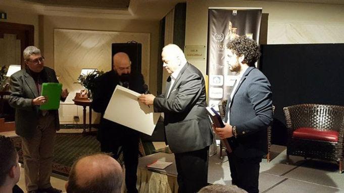 Ugo Russo riceve dal sindaco Cornioli la prestigiosa Cittadinanza onoraria di Sansepolcro
