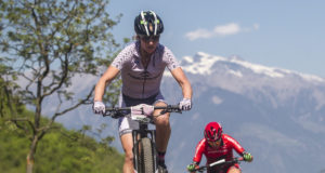 Gunn-Rita Dahle in azione alla Marlene Südtirol Sunshine Race di Nalles - (Credits: Michele Mondini)