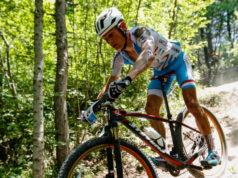 Soren Nissen in azione sul circuito del Parco del Montecchio ai Giochi dei Piccoli Stati d'Europa 2017 - (Credits: Alessandro Alessandroni)