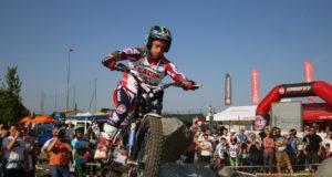 Matteo Grattarola in pole nella classe TR1 a Lazzate
