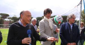 Antonio Buccioni e Stefano Pantano ad Amorvolley 2018