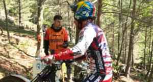 Matteo Grattarola vincitore della tappa del Mondiale Trial2 a Camprodon (Spagna)