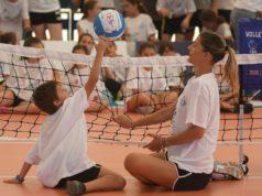 Francesca Piccinini testimonial di Volley Insieme