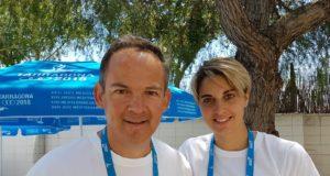 Giovanni Pellielo e Jessica Rossi