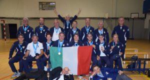 La Squadra italiana Fossa Universale