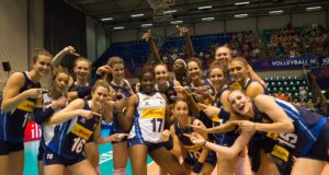 2018 FIVB -VNL - Women Pool 13. Domenican Republic v Italy.