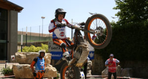 Lorenzo Gandola vincitore della classe TR2 a Santa Fiora