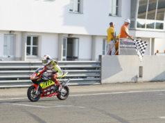 Luca Lunetta leader del Campionato Italiano MiniGP 50cc