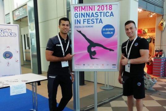 Lorenzo Galli e Marco Lodadio a Ginnastica in Festa 2018