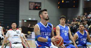 Andrea Giaretti, top scorer con 11 punti