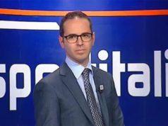 Una immagine tratta dal web del direttore di Sportitalia, Michele Criscitiello.