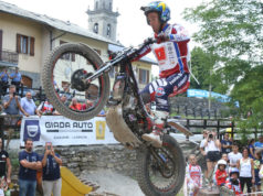 Matteo Grattarola Campione Europeo Trial 2018 (Foto d'archivio a Santo Stefano d'Aveto, Ph. Christian Valeri)