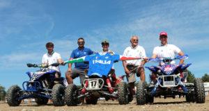 Nella foto (© Attila Pasi): da sinistra Patrick Turrini, Nicola Montalbini, Paolo Galizzi, Antonio Assirelli, Simone Mastronardi