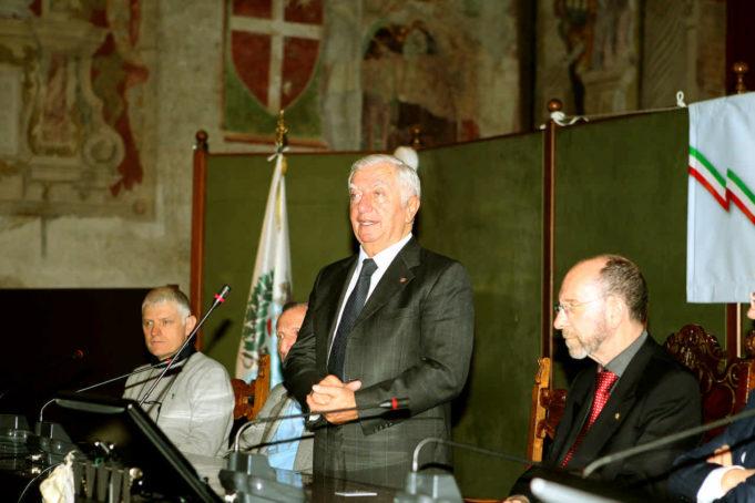 Ettore Renato Barzi, presidente UC Trevigiani
